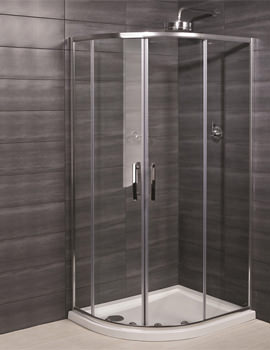 RAK Premium 6 Double Door Offset Shower Quadrant 1200 x 900mm
