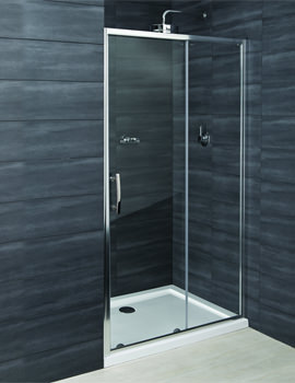 RAK Premium 6 Sliding Shower Door 1100mm | RSTV110
