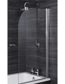RAK Premium 6 Curved Edge Bath Screen 1400 x 800mm - RAK6BSC001
