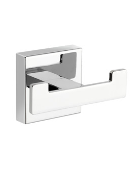 Croydex Cheadle Flexi-Fix Double Robe Hook - QM511741
