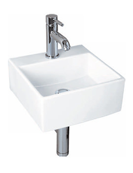 Nova Mini Square Basin 300mm 1 Tap Hole - NOVA30