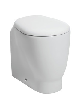 Bauhaus Celeste Back To Wall WC 520mm With Wrap Over Soft Close Seat