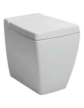 Bauhaus Linea Back To Wall WC Pan 540mm With Wrap Over Soft Close Seat