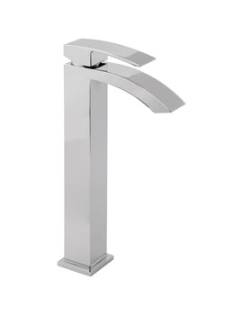 Image of Deva Swoop Tall Mono Basin Mixer Tap | SWO113-EX