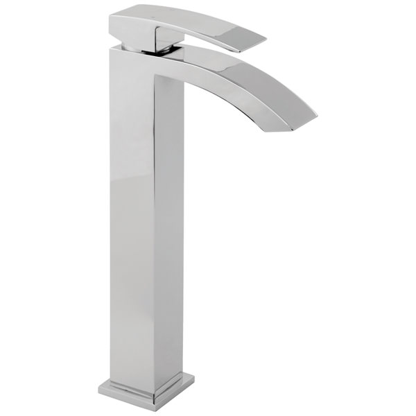 Large Image of Deva Swoop Tall Mono Basin Mixer Tap - SWO113-EX