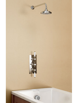 Clyde Concealed Thermostatic Valve With Straight Arm