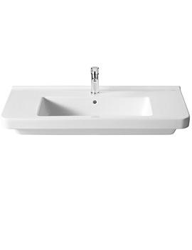 Dama-N Basin White Finish 1000 x 460mm - 327780000