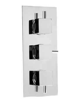 Thermosure DTV3 Cube Triple Control Vertical Shower Valve