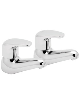 Deva Adore Basin Taps Chrome