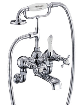 Claremont Wall Mounted Bath Shower Mixer Tap - CL17