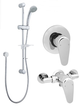 Deva Adore Manual Shower Valve With Single Function Kit