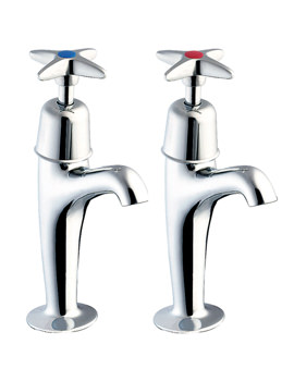 Cross Handle High Neck Kitchen Sink Taps - 930X