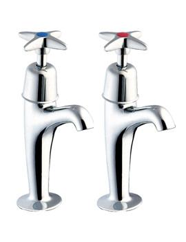 Deva Cross Handle High Neck Kitchen Sink Taps - 930X