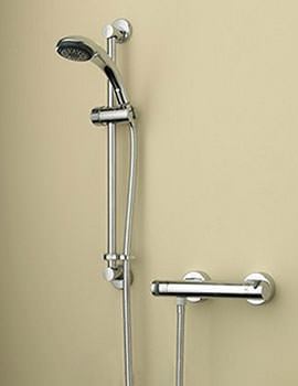 Artisan Thermostatic Bar Shower Valve With Handset - AR2 SHXSMFF C