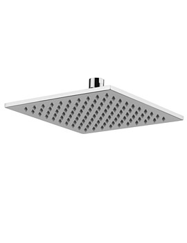Euphoria Slim-Line 7mm Square Showerhead 200mm - AB2445