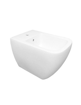 RAK Metropolitan 1 Tap Hole Back To Wall Bidet 525mm | METBID