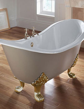 Sheraton 1800mm Slipper Bath With Cast Iron Lion Feet