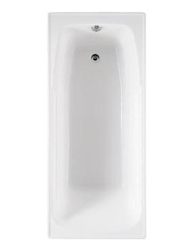 RAK Orient 1700 x 750mm Single Ended Easyflow Acrylic Bath - NORIBATH