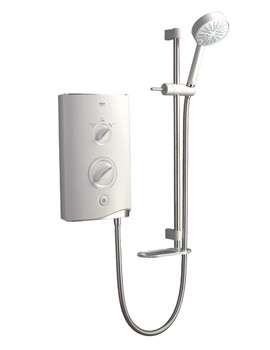 Image of Mira Sport Electric Shower 10.8kW White And Chrome - 1.1746.004