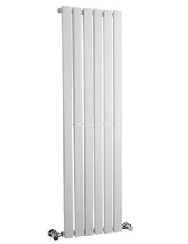 Sloane Single Panel Radiator 354x1500mm White - HLW41