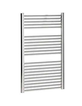 Bauhaus Design Flat Panel Towel Rail 600 x 1110mm Chrome | DE60X111C