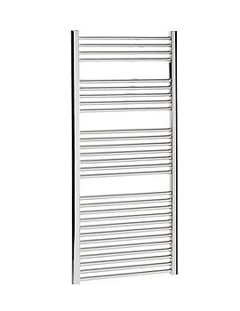 Bauhaus Design Flat Panel Towel Rail 600 x 1430mm Chrome - DE60X143C