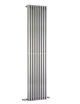 Parallel Designer Radiator 342 x 1800mm Silver - HLS90