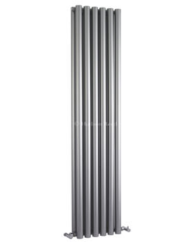 Savy Double Panel Radiator 354 x 1800mm Silver - HLS92