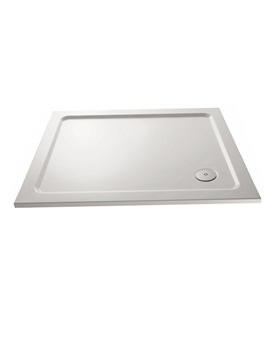 Pearlstone Rectangular Shower Tray 1000 x 800mm - PST013
