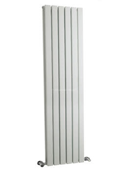 Sloane Double Panel Radiator 354x1800mm White - HLW44