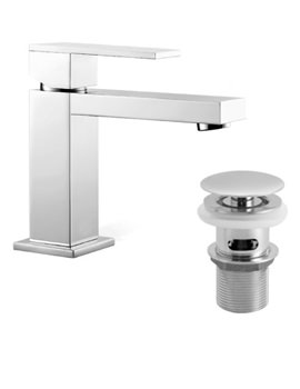Notion Mono Basin Mixer Tap With Clic-Clac Waste - NOT-100-CC