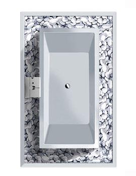 Duravit Starck Freestanding Rectangular Bathtub 2320 x 1420mm - 700059