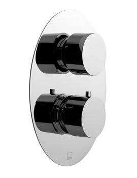 Soho Concealed 2 Handle Thermostatic Shower Valve - SOH-148B-3-4