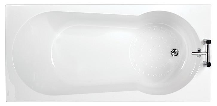beo keyhole standard showerbath 1700 x 800mm bma002 keyhole shower bath 1700 x 700