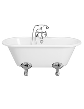 Balterley Echo Freestanding Bath With Feet 1685 x 745mm - BYEC