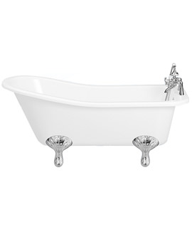 Balterley Yearn Freestanding Bath With Feet 1690 x 730mm - BYYE