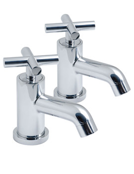 Related Vado Elements Water Bath Pillar Taps - ELW-136
