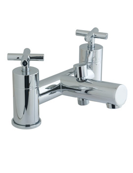 Elements Water 2 Hole Bath Shower Mixer Tap - ELW-130