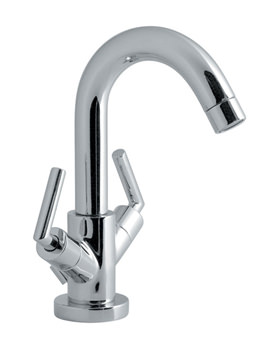 Elements Air Mono Basin Mixer Tap With Pop-Up Waste