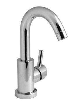Related Vado Elements Air Mono Basin Mixer Tap With Pop-Up Waste - ELA-100S