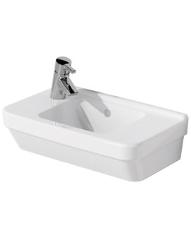 S50 Compact Basin 1 Tap Hole On Left Hand Side
