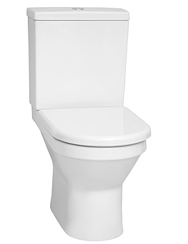S50 Close Coupled 655mm Fully Back-To-Wall WC Pan