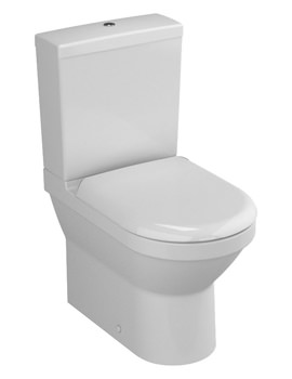 VitrA S50 Compact Close Coupled WC With Cistern-Seat - 5427L003-7200