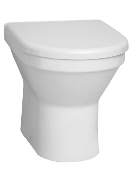 S50 Back-To-Wall WC Pan And Toilet Seat