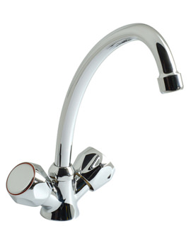 Related Vado Astra Mono Kitchen Sink Mixer Tap With Tubular Swivel Spout