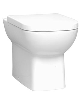 VitrA Retro Back To Wall WC pan With Toilet Seat - 5159B003-0075