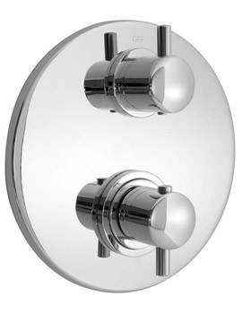 Related Vado Celsius Concealed 3 Outlet 2 Handle Thermostatic Shower Valve
