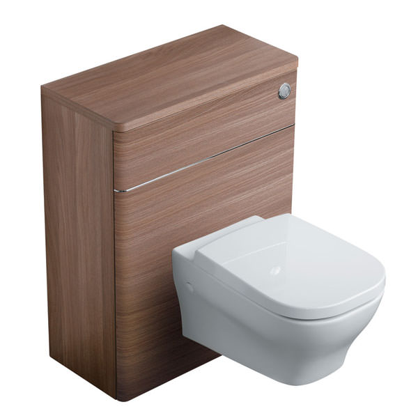 Large Image of Ideal Standard Softmood 650mm WC Unit Walnut - T7819S6