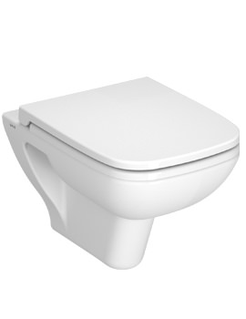 VitrA S20 Wall Hung WC Pan With Seat - 5507L003-0075