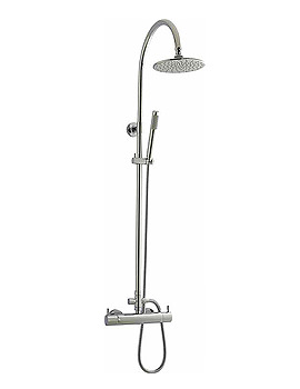 Waterfall Thermostatic Shower Set